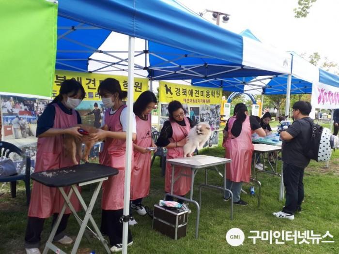 [축산과]제3회「구미시 반려동물 문화축제」성황리 개최!5(무료미용).jpg
