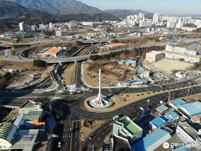 [도로과]수출탑~시민운동장 연결도로 개통2.JPG
