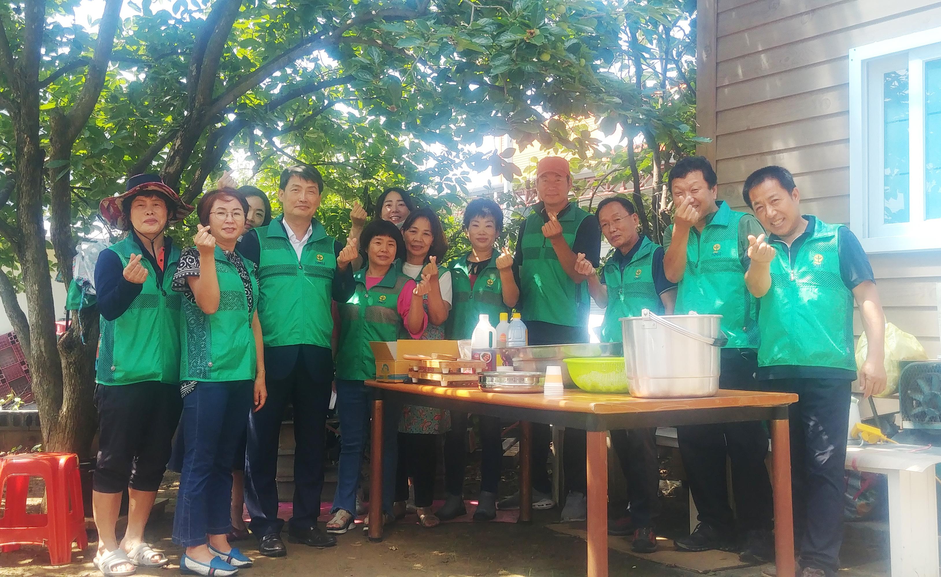 임오동 새마을남·여지도자협의회, 사랑의 반찬나눔 봉사활동 실시