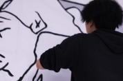 국내 최대 라이브페인팅 쇼 진행… 신예 아티스트 5팀 벽화작업 생중계