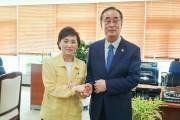 장세용 구미시장, 국토부 장관 만나 지역현안 지원 요청!