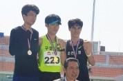 구미시청 육상실업팀 전국 육상경기대회 입상