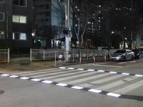 구미시, 교통안전을 위한 스마트 횡단보도 시범설치
