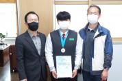 금오고 박소진 학생, 제50회 춘계 중고등학교 육상경기대회 준우승!