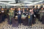 월남전참전자회 제35차 정기총회 및 지회장 이취임식 개최