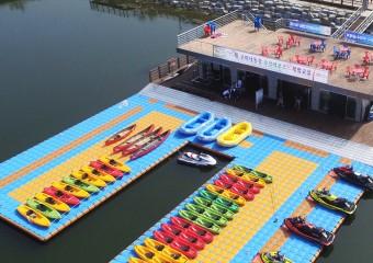 구미낙동강 수상레포츠 체험센터 개장 및 무료 체험교실 운영