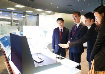 구미시장, AGC 및 도레이 방문 지속적인 투자 요청!