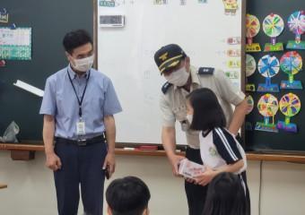 구미소방서, 구급수혜자 학생에게 감사의 손편지 받고 감동 전해!
